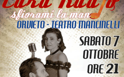 """""""Cara Radio… Sfiorami la mano"""" si replica il 7 ottobre al Teatro Mancinelli"""
