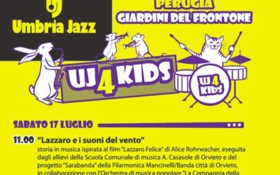 Scuola Casasole e Filarmonica Mancinelli a Umbria Jazz For Kids